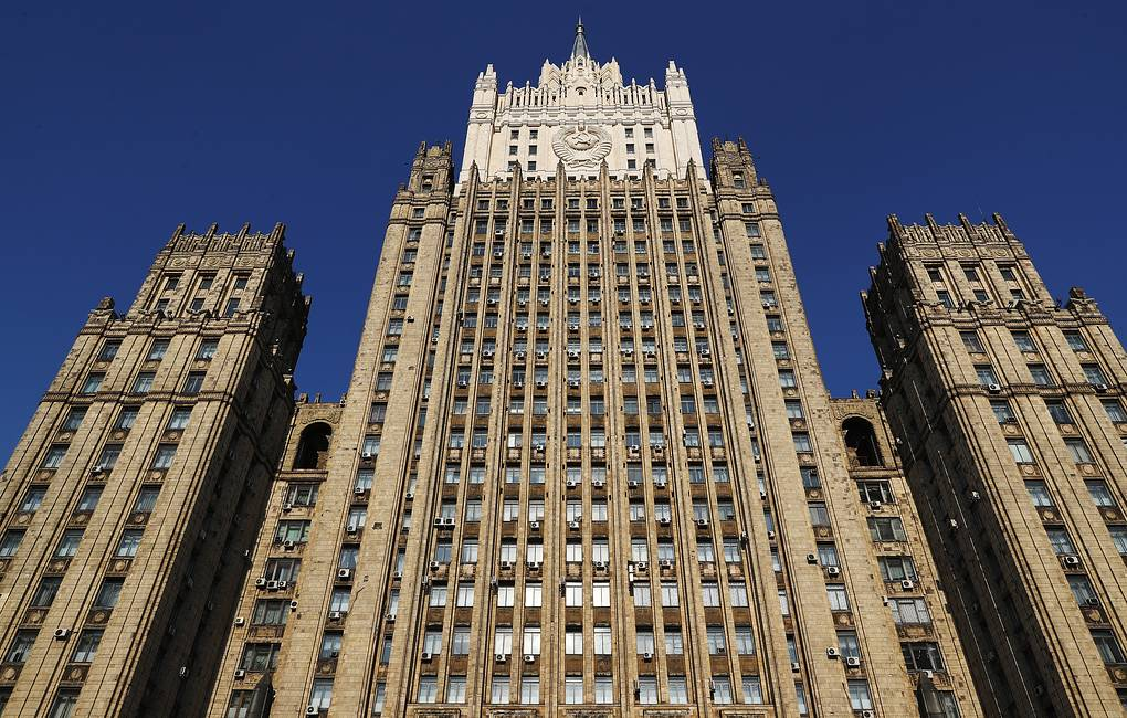 The Russian Foreign Ministry headquarters in Moscow Anton Novoderezhkin/TASS
