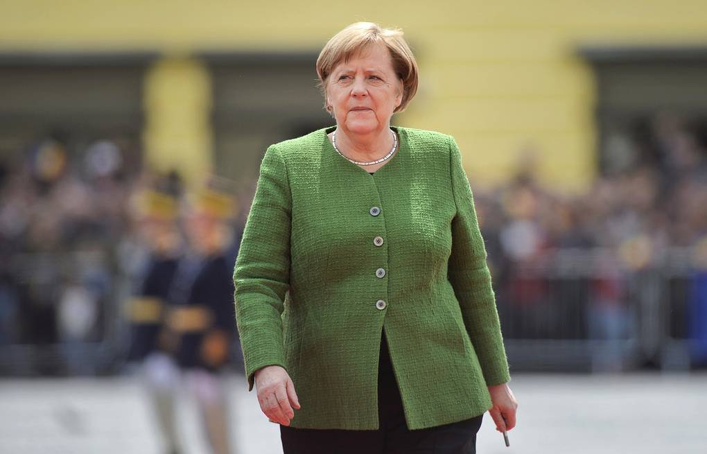 German Chancellor Angela Merkel AP Photo/Andreea Alexandru