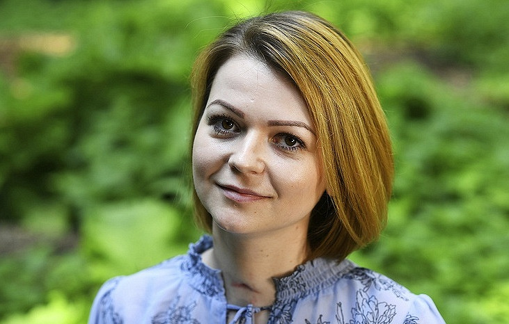 Yulia Skripal Dylan Martinez/Pool via AP