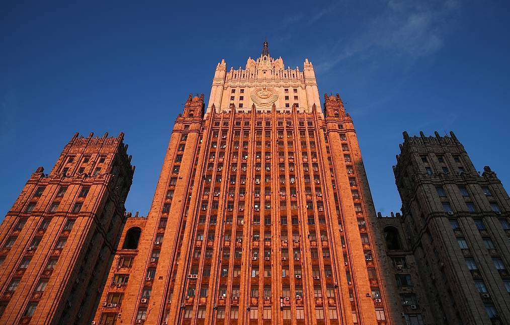 The building of the Foreign Ministry of the Russian Federation Valery sharifulin/TASS