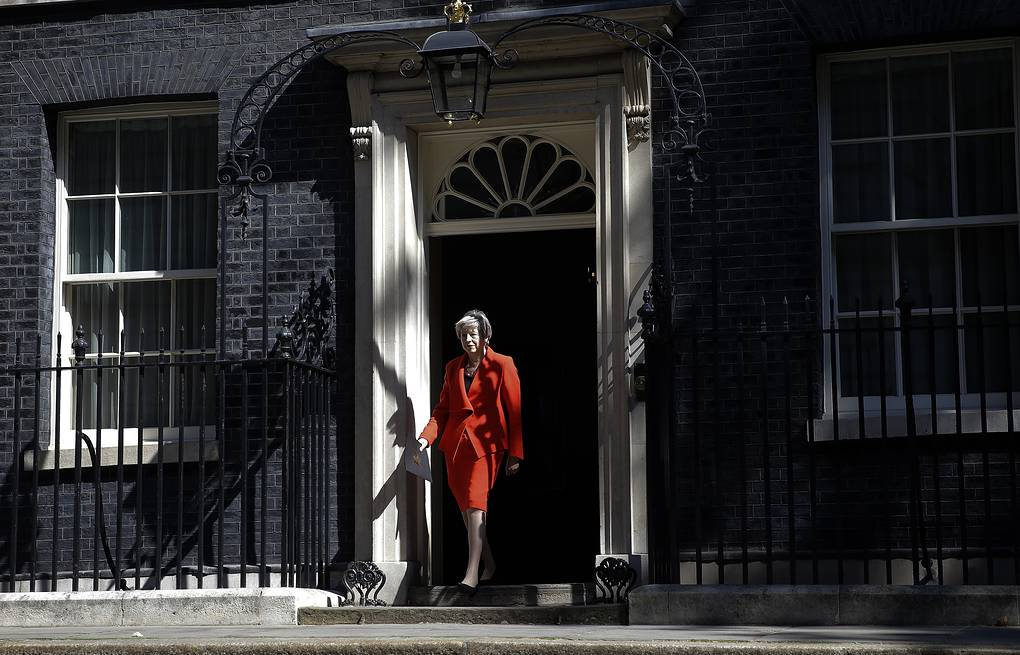 British Prime Minister Theresa May AP Photo/Alastair Grant