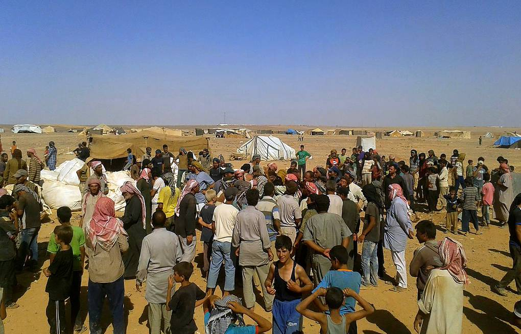 Rukban refugee camp AP Photo