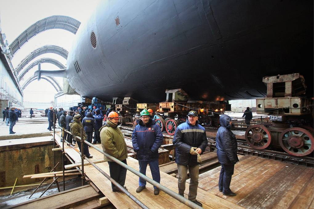Russia's advanced Borei-A submarine to enter 2nd stage of