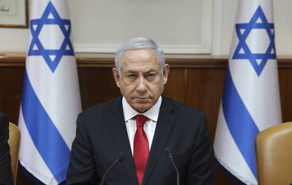 Israeli Prime Minister Benjamin Netanyahu Abir Sultan/Pool Photo via AP