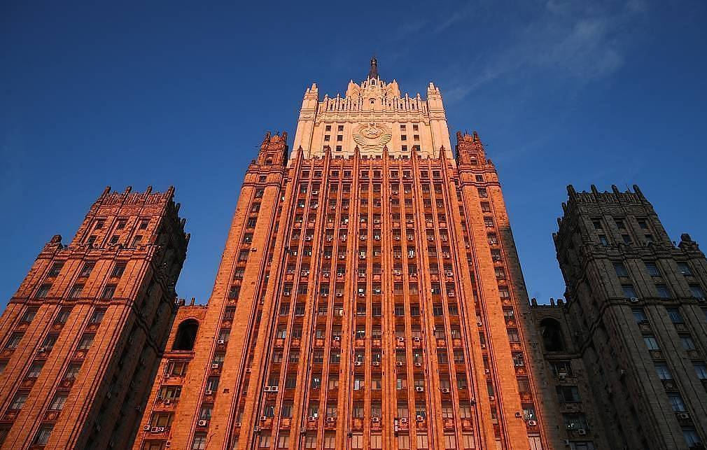 The Russian Foreign Ministry's office  Valery Sharifulin/TASS