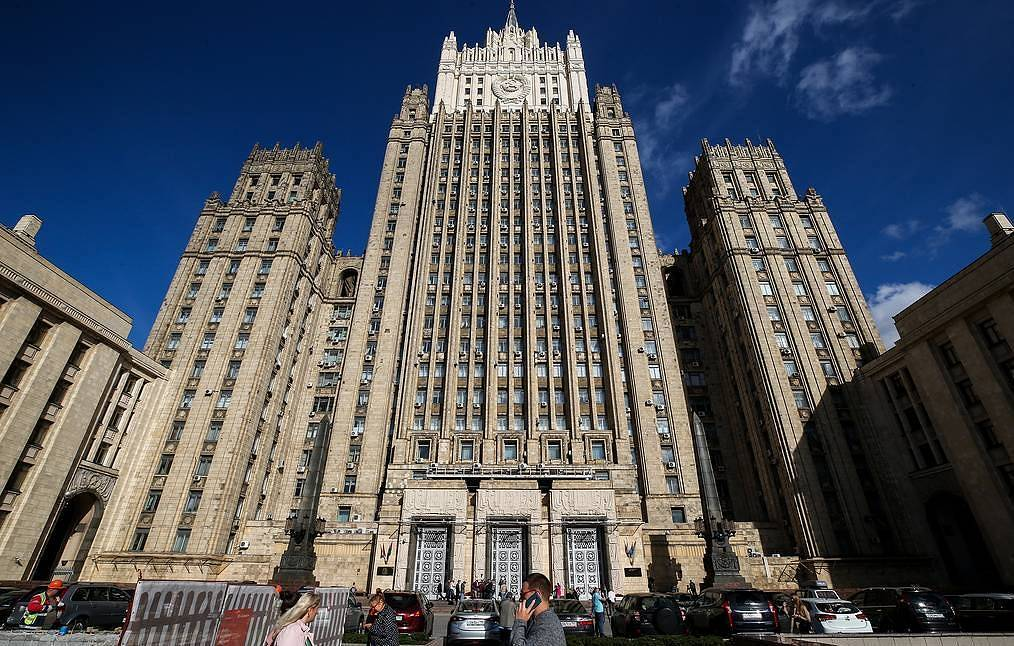 The Russian Foreign Ministry  Sergei Fadeichev/TASS