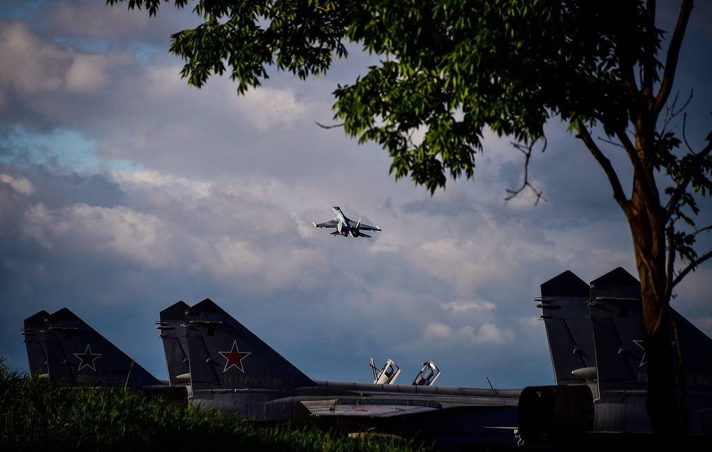 Russian fighter jets scrambled 6 times over week to intercept