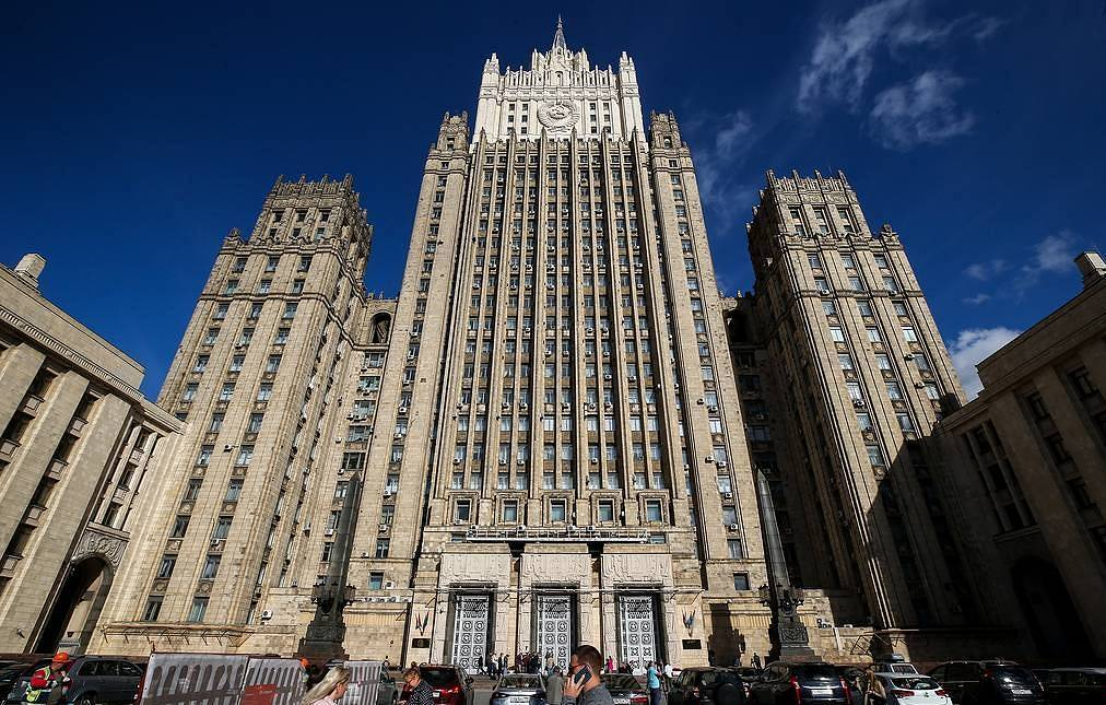 Russian Foreign Ministry's office Sergei Fadeichev/TASS