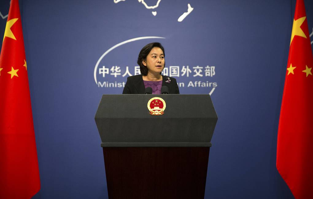 Chinese Foreign Ministry spokesperson Hua Chunying AP Photo/Mark Schiefelbein