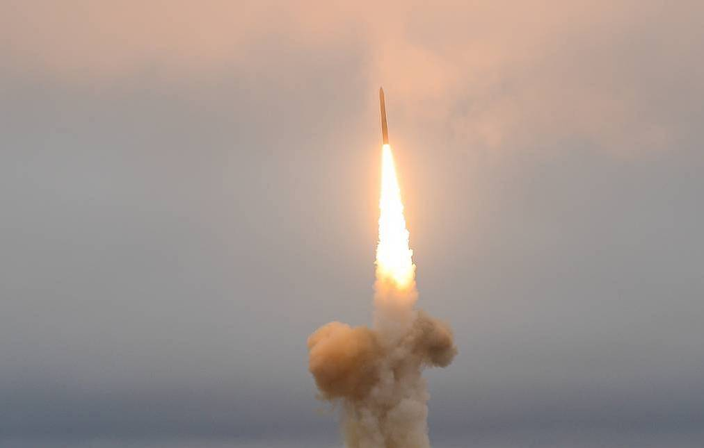 Launch of Topol-M intercontinental ballistic missile TASS, archive