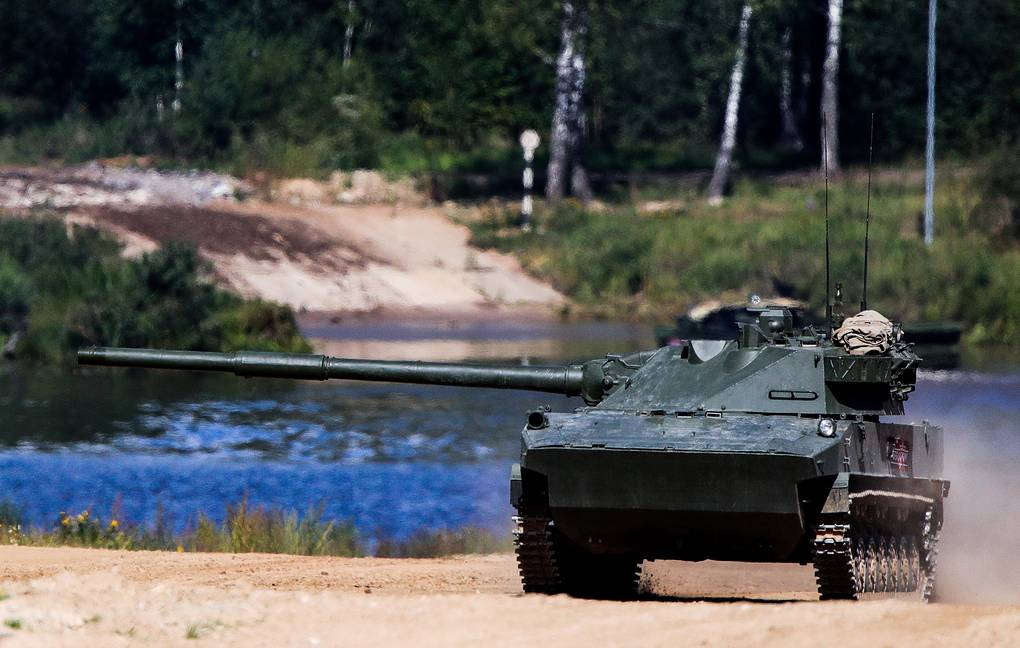 Sprut-SD self-propelled anti-tank gun Sergei Bobylev/TASS