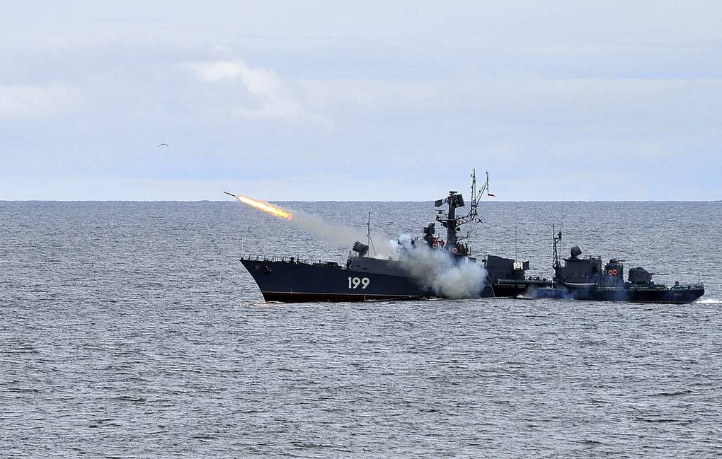 Brest small anti-submarine ship Lev Fedoseyev/TASS