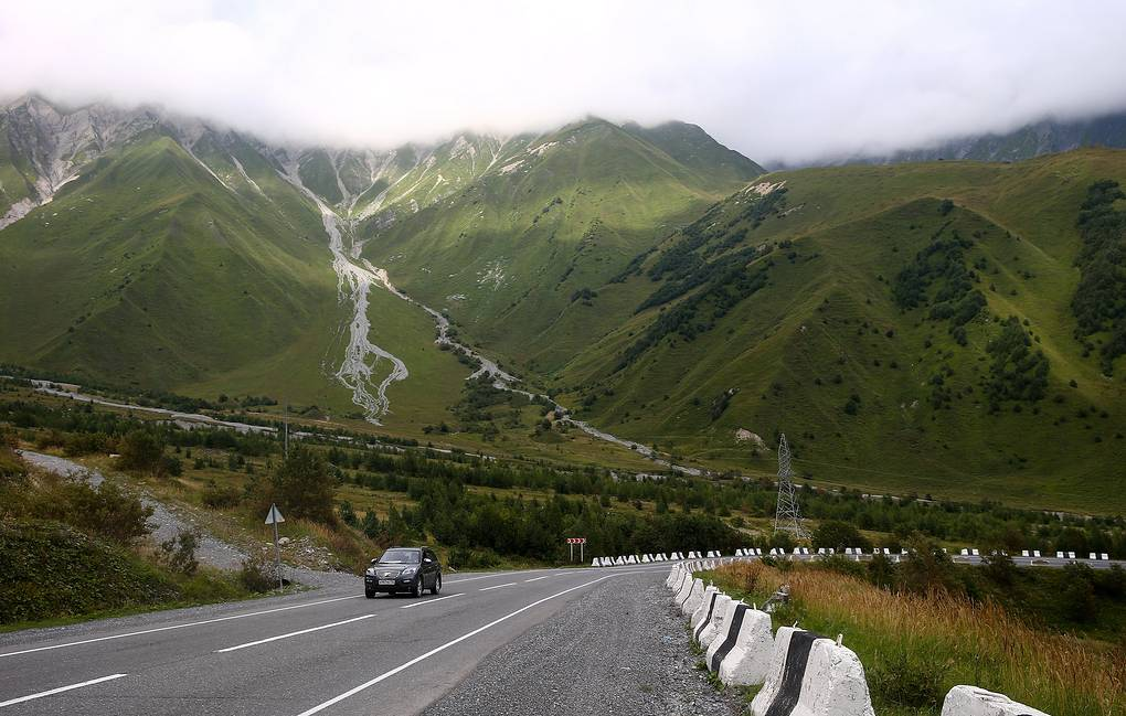 A road in South Ossetia Valery Sharifulin/TASS