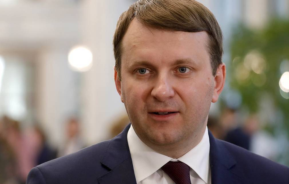 Russian Economic Development Minister Maxim Oreshkin Mikhail Dzhaparidze/TASS