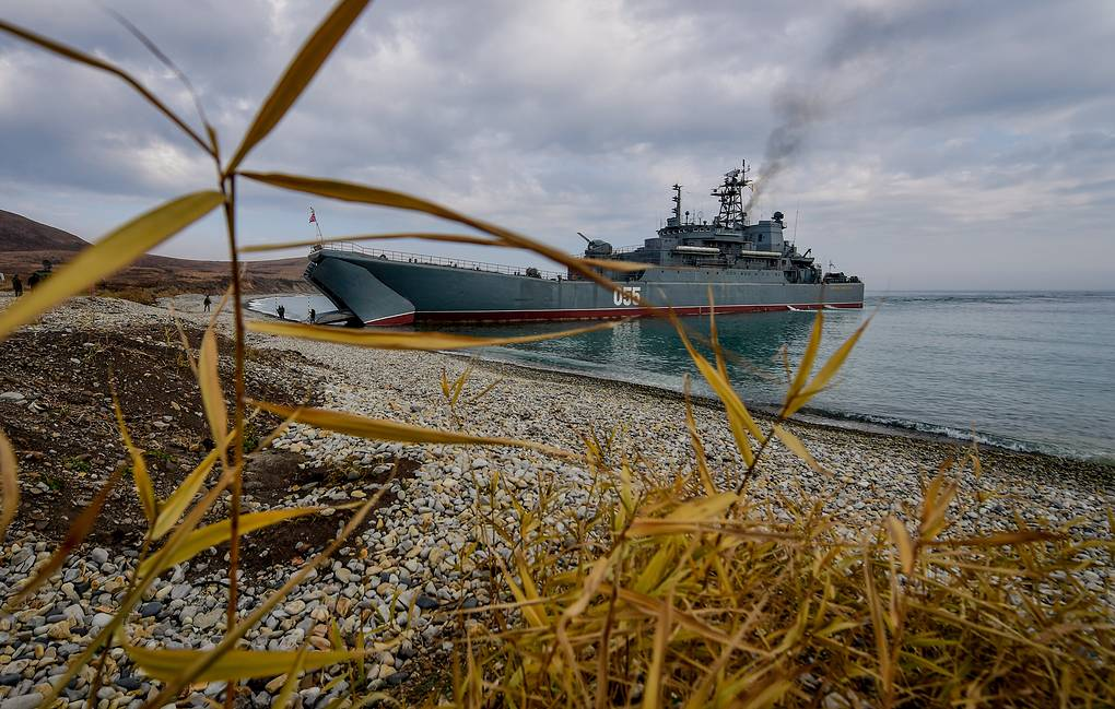 Group of Baltic Fleet ships to take part in Russian-Indian