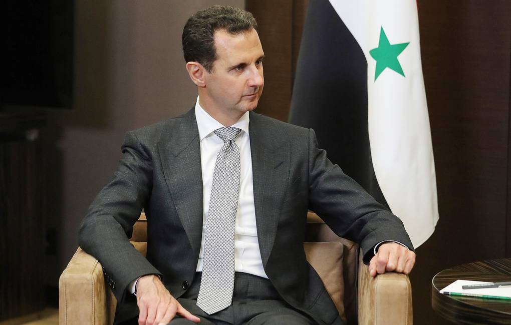 Syria's President Bashar al-Assad Mikhail Klimentyev/Russian Presidential Press and Information Office/TASS
