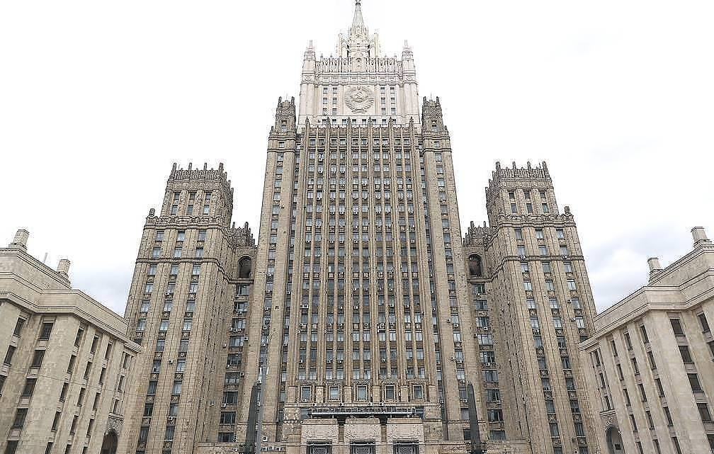 The Russian Foreign Affairs Ministry  Anton Novoderezhkin/TASS