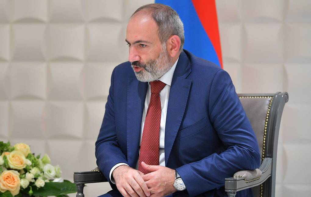 Armenian Prime Minister Nikol Pashinyan Alexei Druzhinin/Russian Presidential Press and Information Office/TASS