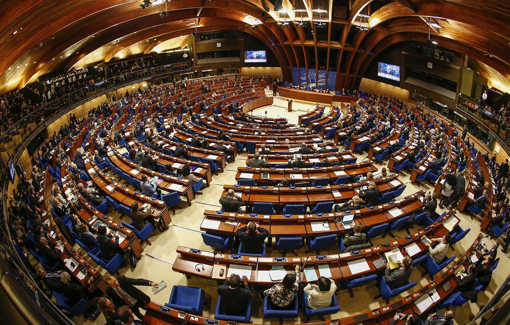 A plenary meeting of the Parliamentary Assembly of the Council of Europe Mikhail Japaridze/TASS