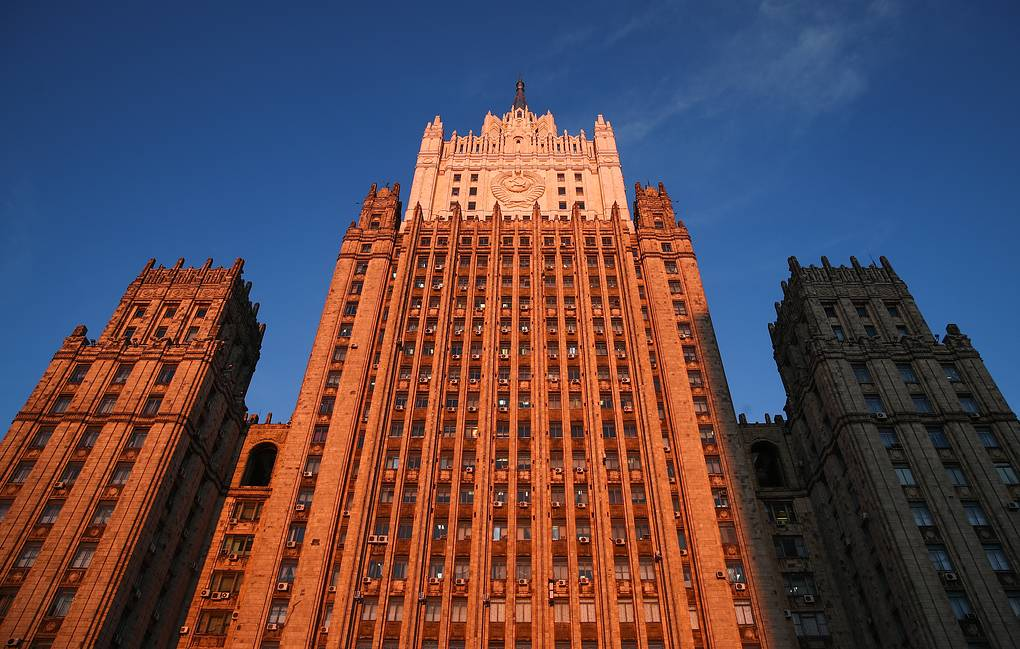 The Russian Foreign Ministry headquarters Valery Sharifulin/TASS