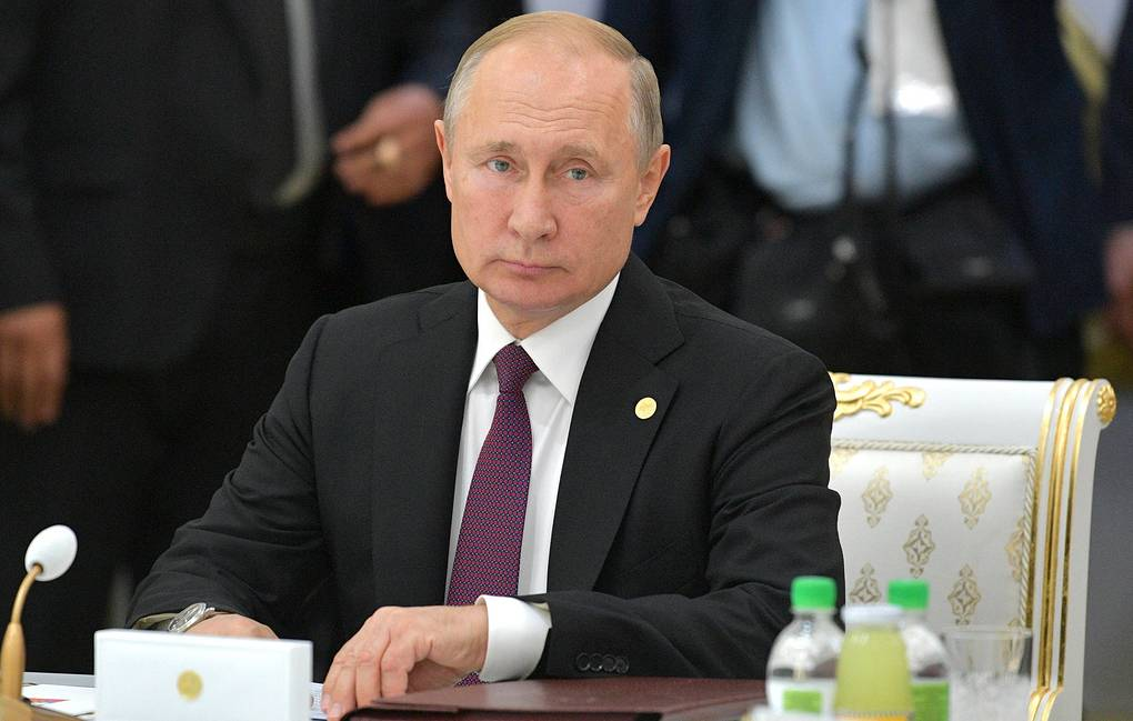 Russia's President Vladimir Putin Alexei Druzhinin/Russian Presidential Press and Information Office/TASS