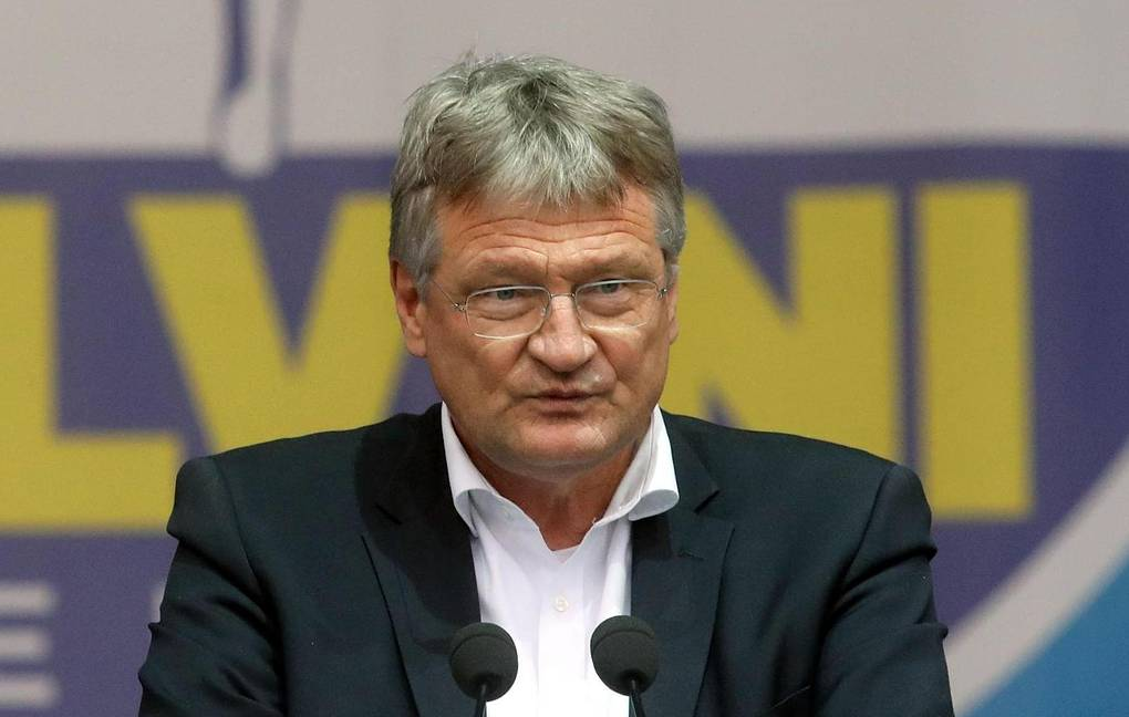 Co-chairman of the Alternative for Germany party and member of the European Parliament Jorg Meuthen EPA-EFE/MATTEO BAZZI