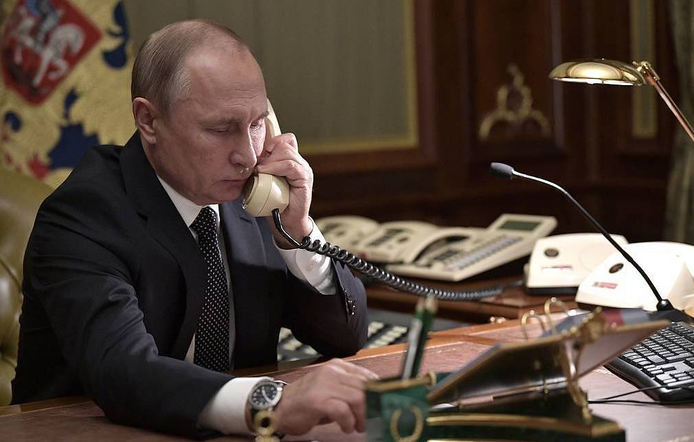 Russia's President Vladimir Putin Alexei Nikolsky/Russian Presidential Press and Information Office/TASS