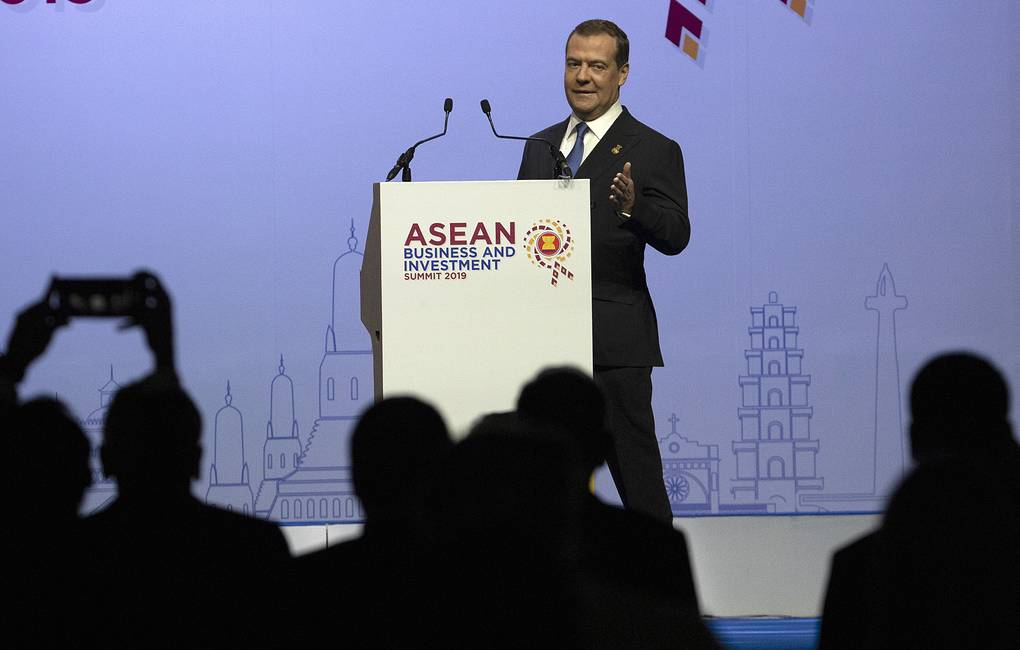 Russian Prime Minister Dmitry Medvedev AP Photo/Sakchai Lalit