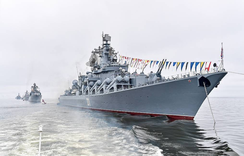 The Varyag guided missile cruiser Yuri Smityuk/TASS