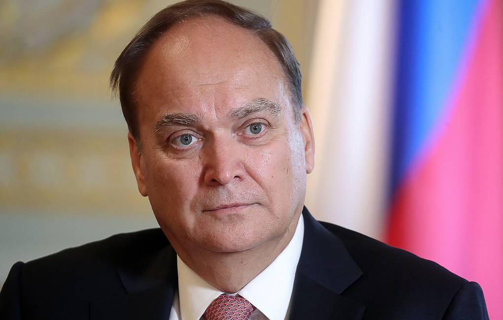 Russian Ambassador to the US Anatoly Antonov Valery Sharifulin/TASS