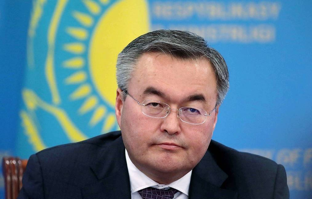 Kazakhstan's Minister of Foreign Affairs Mukhtar Tileuberdi Vitaly Belousov/POOL/TASS