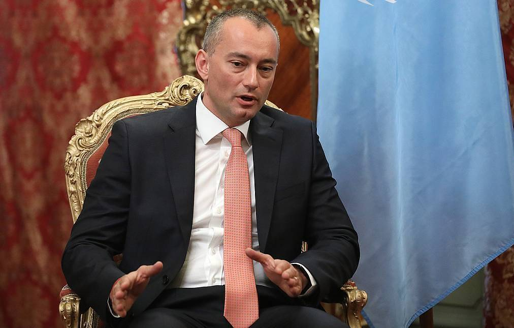 UN Special Coordinator for the Middle East Peace Process Nickolay Mladenov Mikhail Pochuyev/TASS