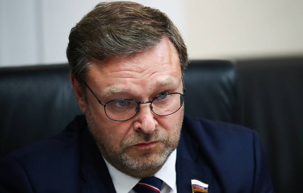Chairman of the Russian Federation Council's Committee on International Relations Konstantin Kosachev Mikhail Tereshchenko/TASS