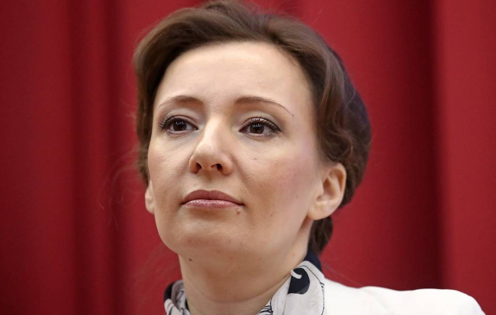 Russian Presidential Commissioner for Children's Rights Anna Kuznetsova Valery Sharifulin/TASS