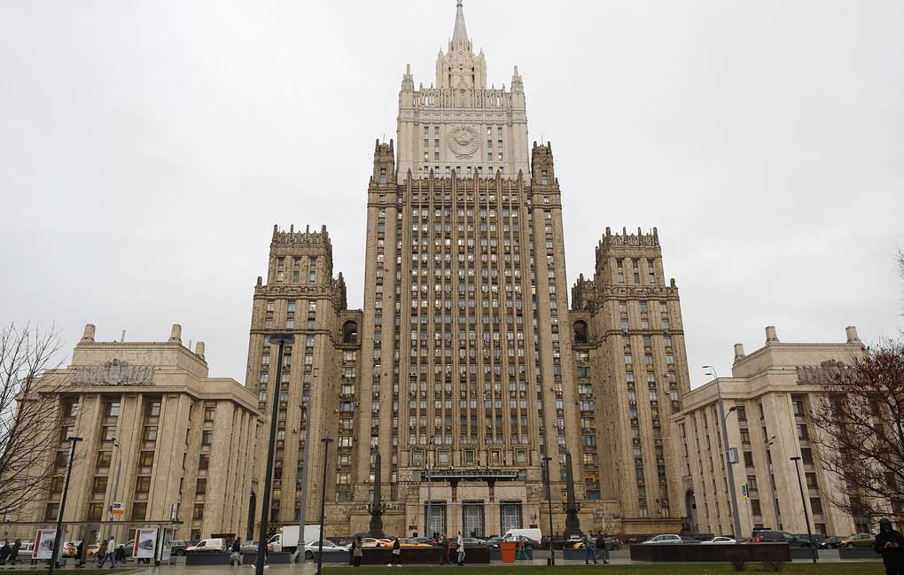 The Russian Foreign Ministry building in Moscow Mikhail Japaridze/TASS