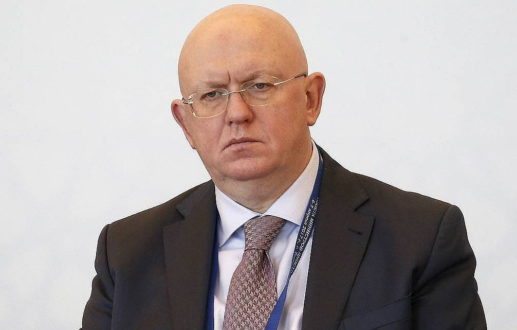 Russian Permanent Representative to the United Nations Vasily Nebenzya Alexander Shchebak/TASS