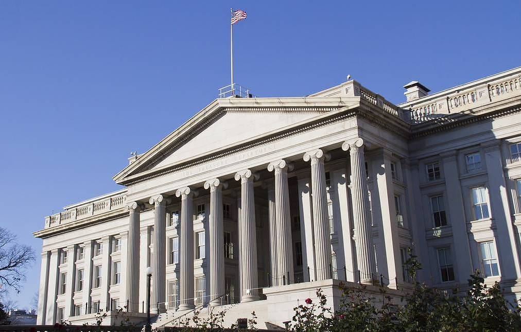 US Treasury Department  MDOGAN/Shutterstock/FOTODOM