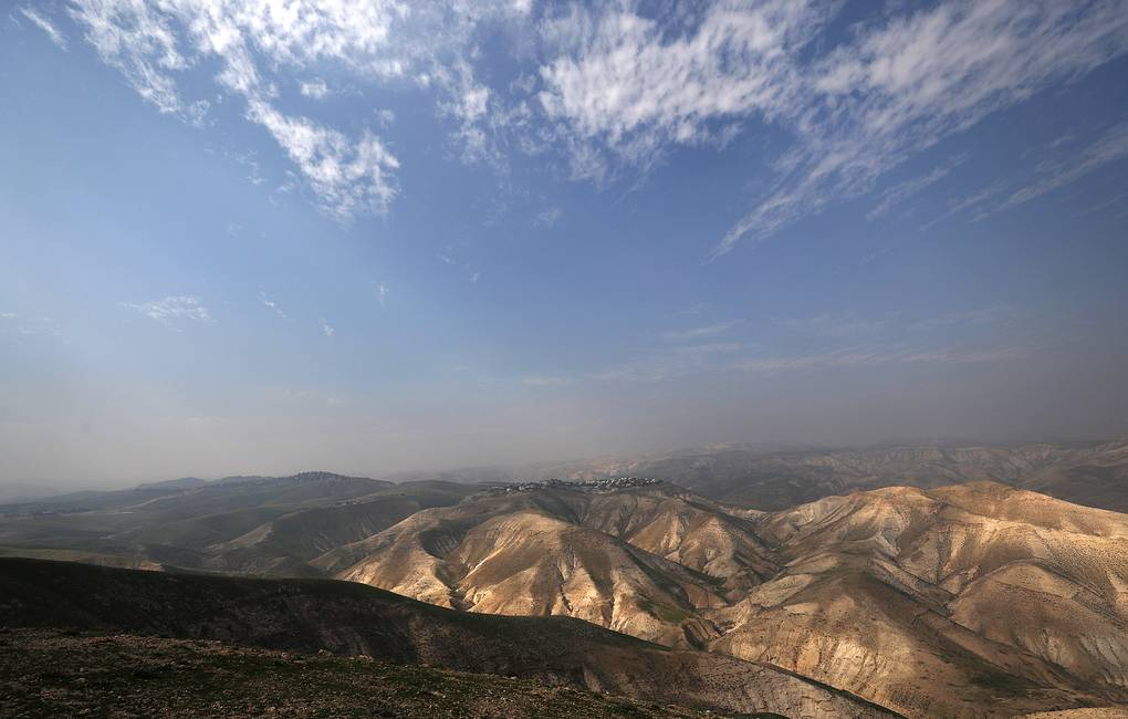 A general view of the of the Jordan valley between Jerusalem and the Dead Sea EPA-EFE/ATEF SAFADI