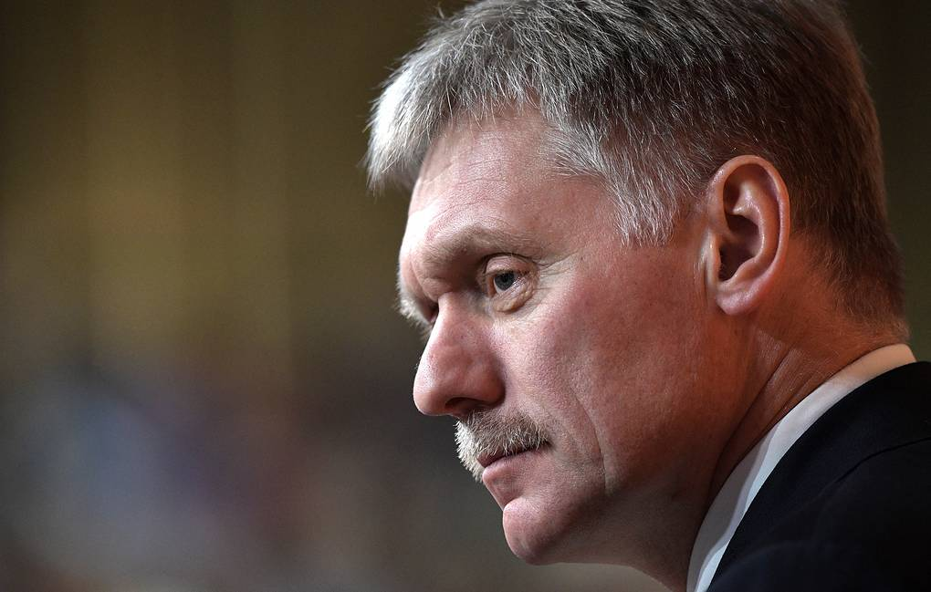 Kremlin Spokesman Dmitry Peskov Alexei Nikolsky/Russian Presidential Press and Information Office/TASS