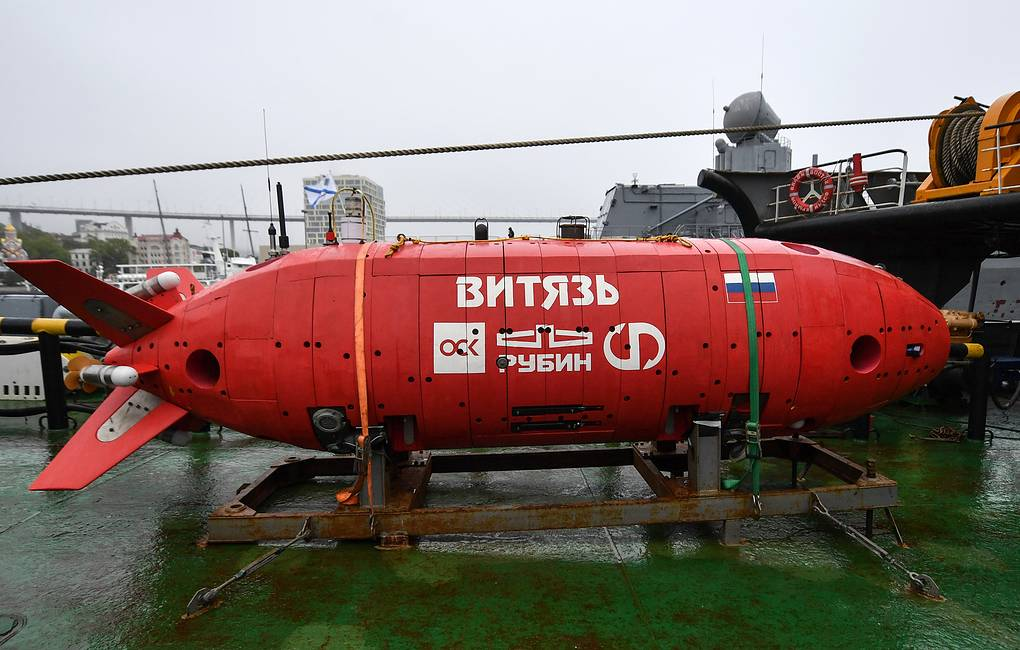 Vityaz-D deep submergence vehicle Yuri Smityuk/TASS