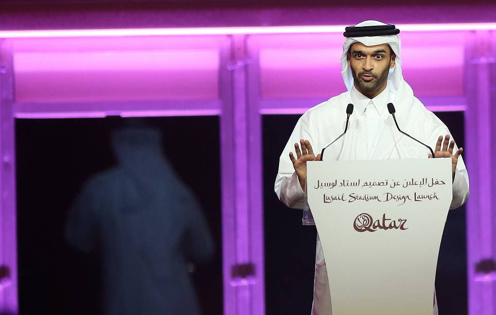 Hassan Al Thawadi, Secretary General of the Supreme Committee for Delivery & Legacy of the 2022 FIFA World Cup EPA-EFE/STR