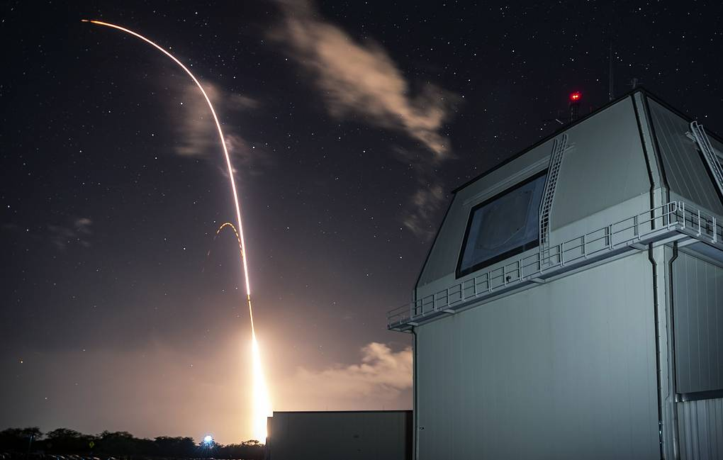 Launch of US land-based Aegis missile defense testing system Mark Wright/Missile Defense Agency via AP