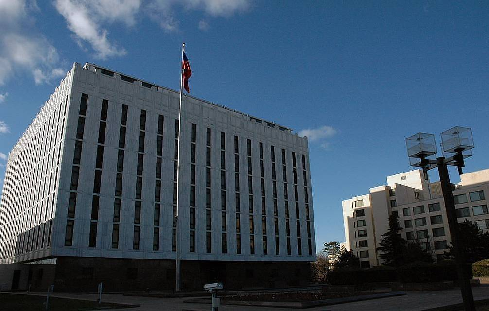 Russian embassy in Washington Anatonly Bochinin/TASS