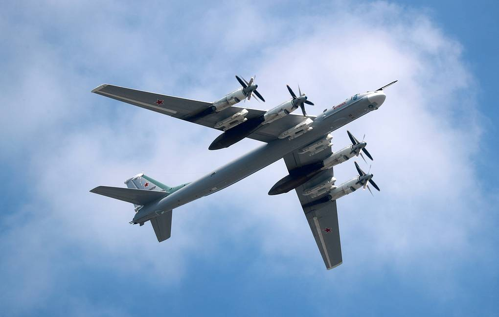 Tu-95MS strategic missile-carrying bomber Sergei Fadeichev/TASS