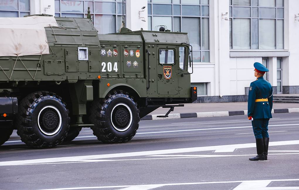 Iskander tactical missile system Nizhny Novgorod Region Government Press Office/TASS