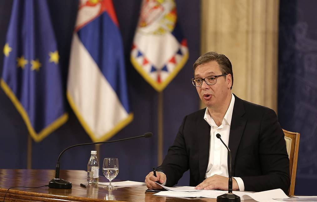 Serbian president informed Lavrov about results of his...
