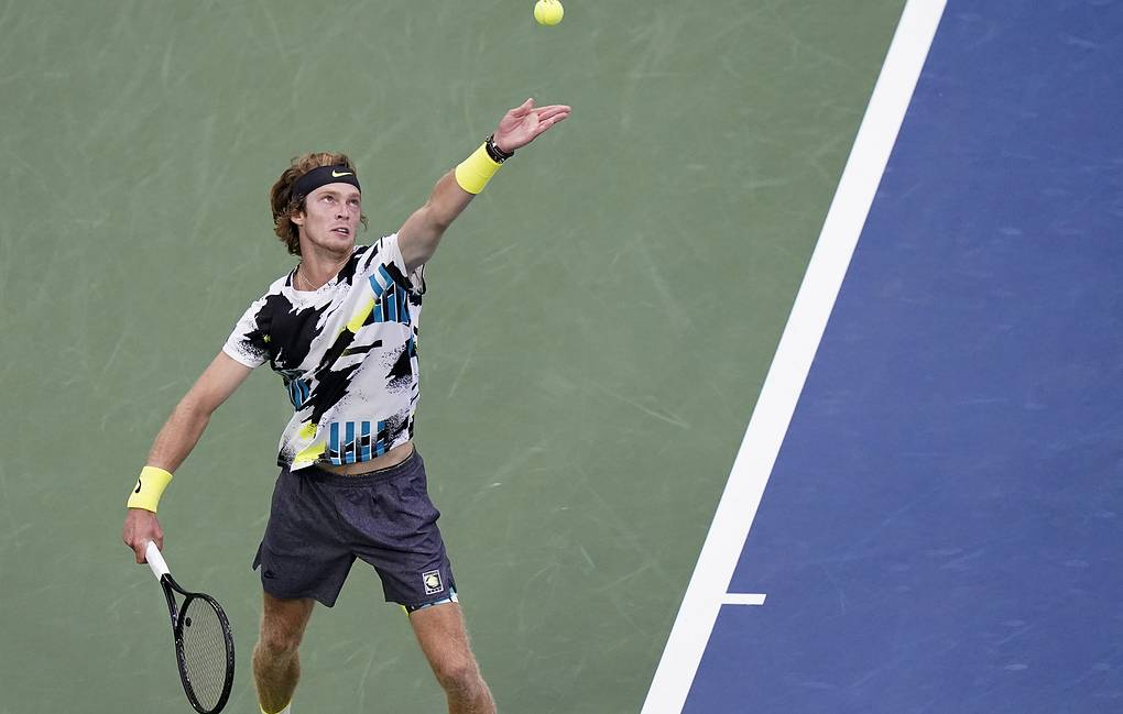 Andrey Rublev AP Photo/Frank Franklin II
