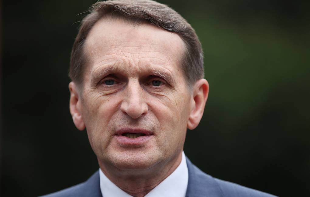 Head of the Russian Foreign Intelligence Service Sergei Naryshkin Vladimir Gerdo/TASS