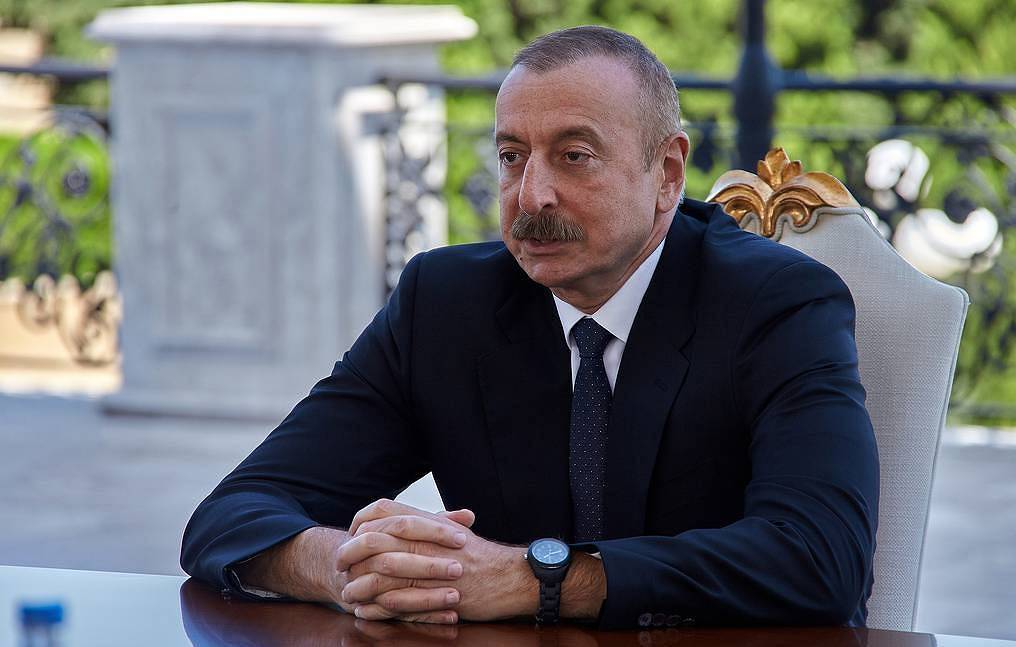 Azerbaijani President Ilkham Aliyev Vadim Savitsky/Russian Defence Ministry Press Office/TASS