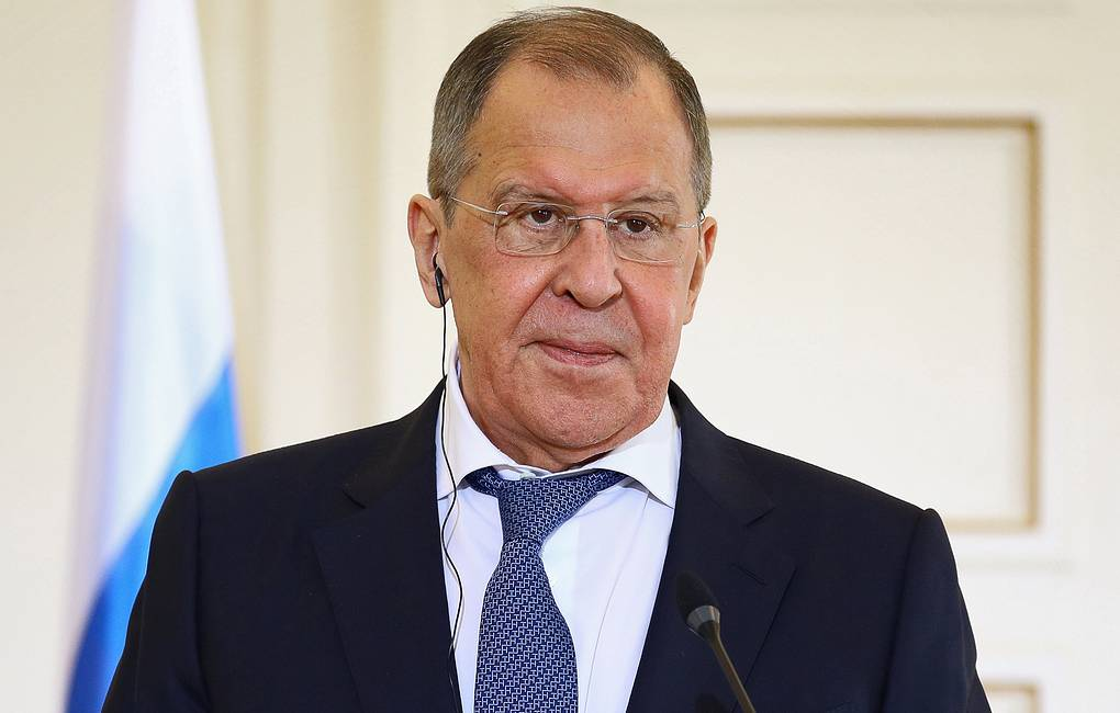 Russian Foreign Minister Sergey Lavrov Press service of the Russian Foreign Ministry/TASS